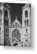 Sacred Heart Cathedral - Newark,new Jersey Greeting Card