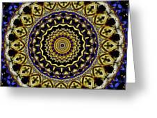 Sacred Mandala Greeting Card