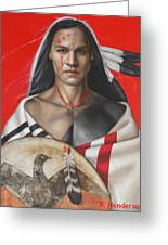 Sacred Power Greeting Card