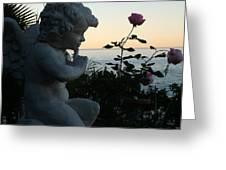 Sacred Secret Garden  Greeting Card