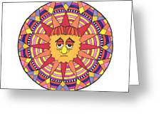 Sad Sunny Greeting Card