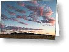 Saddle Butte Greeting Card