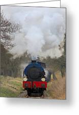 Saddle-tank Locomotive Greeting Card