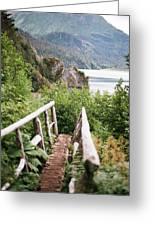 Saddle Trail Bridge Greeting Card