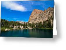 Saddleback Lake Greeting Card