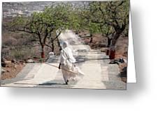 Sadhvi Greeting Card