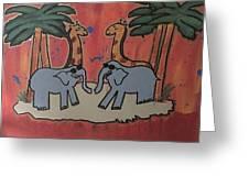 Safari Greeting Card