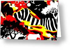 Safari Dreams Greeting Card