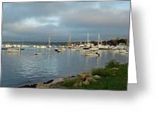 Safe Harbor - Plymoth Greeting Card