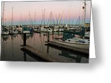 Safe In Harbor Greeting Card