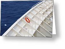 Safety At Sea Greeting Card