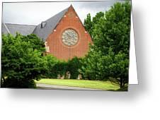Sage Chapel Cornell University Ithaca New York 02 Greeting Card