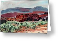 Sage Sand And Sierra Greeting Card