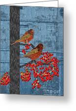 Sagebrush Sparrow Long Greeting Card