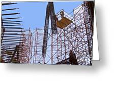 Sagrada Temple Barcelona  Under Construction Since 1886 Artwork By Navinjosh At Fineartamerica.com  Greeting Card