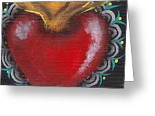 Sagrado Corazon 1 Greeting Card