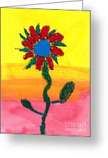 Sahale's Pastel Greeting Card