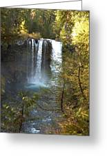 Sahalie Falls Greeting Card