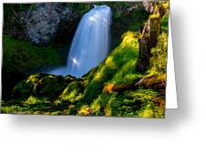Sahalie Falls Greeting Card