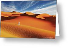Sahara Desert, Algeria Greeting Card
