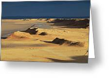 Sahara Desert Near Tozeur Tunisia Greeting Card