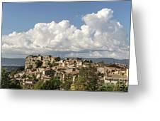 Saignon Village Provence  Greeting Card