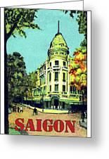 Saigon, Ho Chi Mihn City, Vietnam Greeting Card