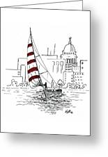 Sail Away Greeting Card