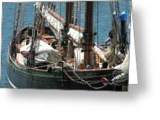 Sail Boat Greeting Card