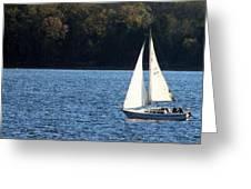 Sail Boat Greeting Card