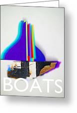 Sail Boats Greeting Card