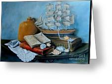 Sail By Tale Greeting Card