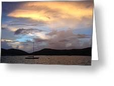 Sail Fast, Greeting Card