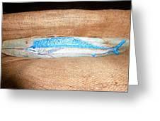 Sail Fish Greeting Card