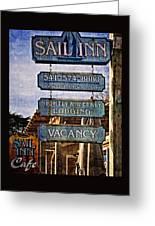 Sail Inn Greeting Card