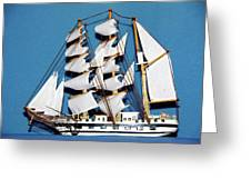 Sail Ship Greeting Card