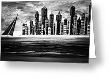 Sail With The City 16 Greeting Card