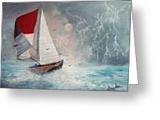 Sailboat 2 Greeting Card