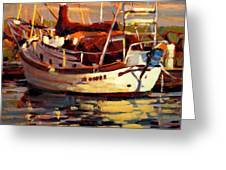 Sailboat Greeting Card