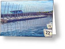 Sailboat Classes Greeting Card