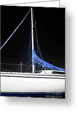 Sailboat Hull Greeting Card