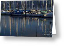 Sailboat Reflections Greeting Card