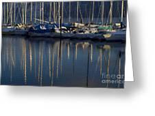 Sailboat Reflections Greeting Card