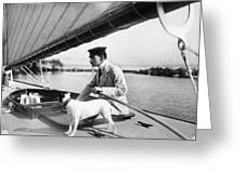 Sailing, 20th Century Greeting Card