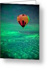 Sailing Above The Storm Greeting Card