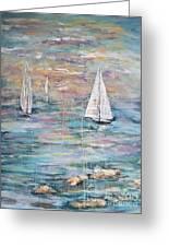 Sailing Away 1 Greeting Card