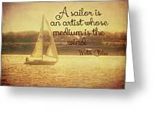Sailing Chiles Greeting Card