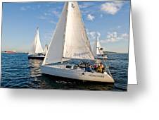 Sailing Crew Greeting Card