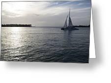 Sailing Greeting Card