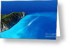 Sailing I Greeting Card